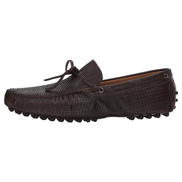 کفش مردانه ماسیمو متئو مدل Woven Stamped01