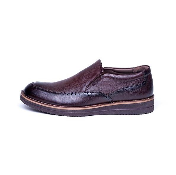 کفش مردانه آناک چرم مدل پاترون کد 02