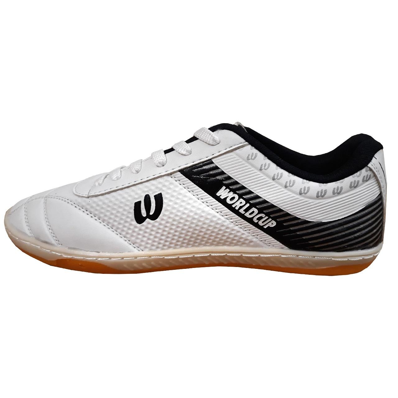 کفش فوتسال مردانه  مدل WORLDCUP WHITE
