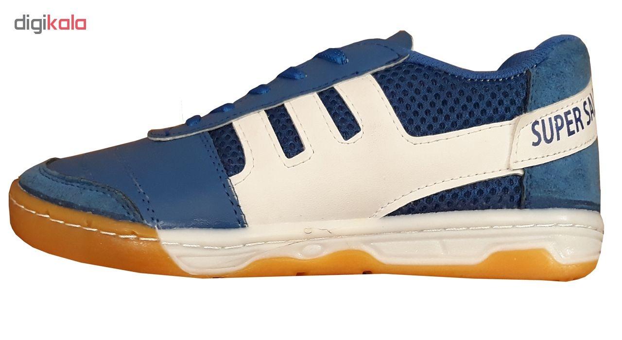 کفش فوتسال پسرانه سوپرسالا مدل BLUE1