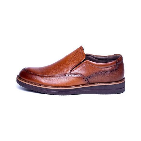 کفش مردانه آناک چرم مدل پاترون کد 10