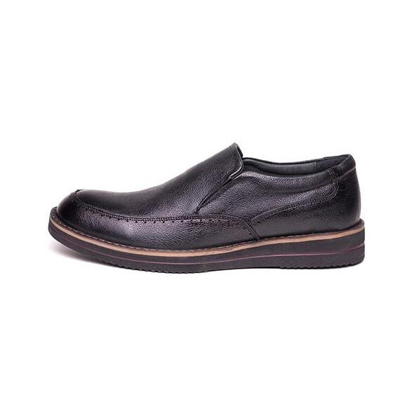 کفش مردانه آناک چرم مدل پاترون کد 01