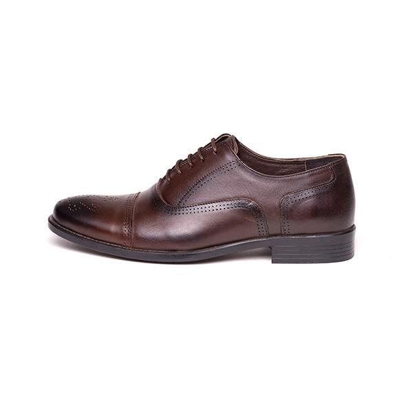کفش مردانه آناک چرم مدل پاترا-02
