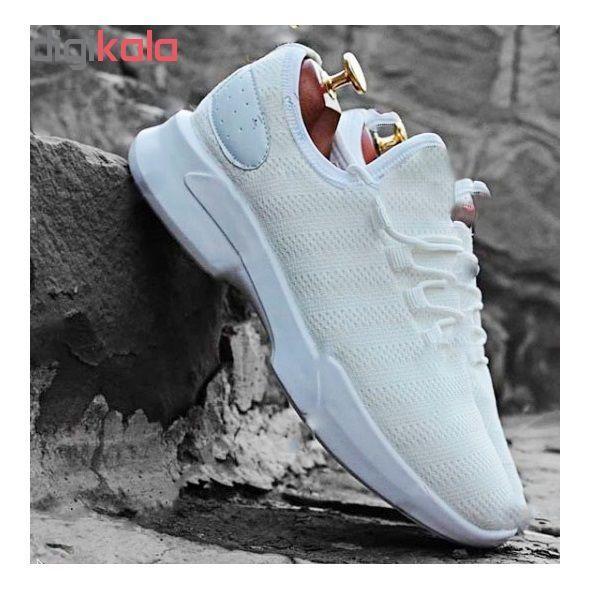 کفش مخصوص دویدن مردانه مدل A-R-S-H رنگ سفید main 1 2
