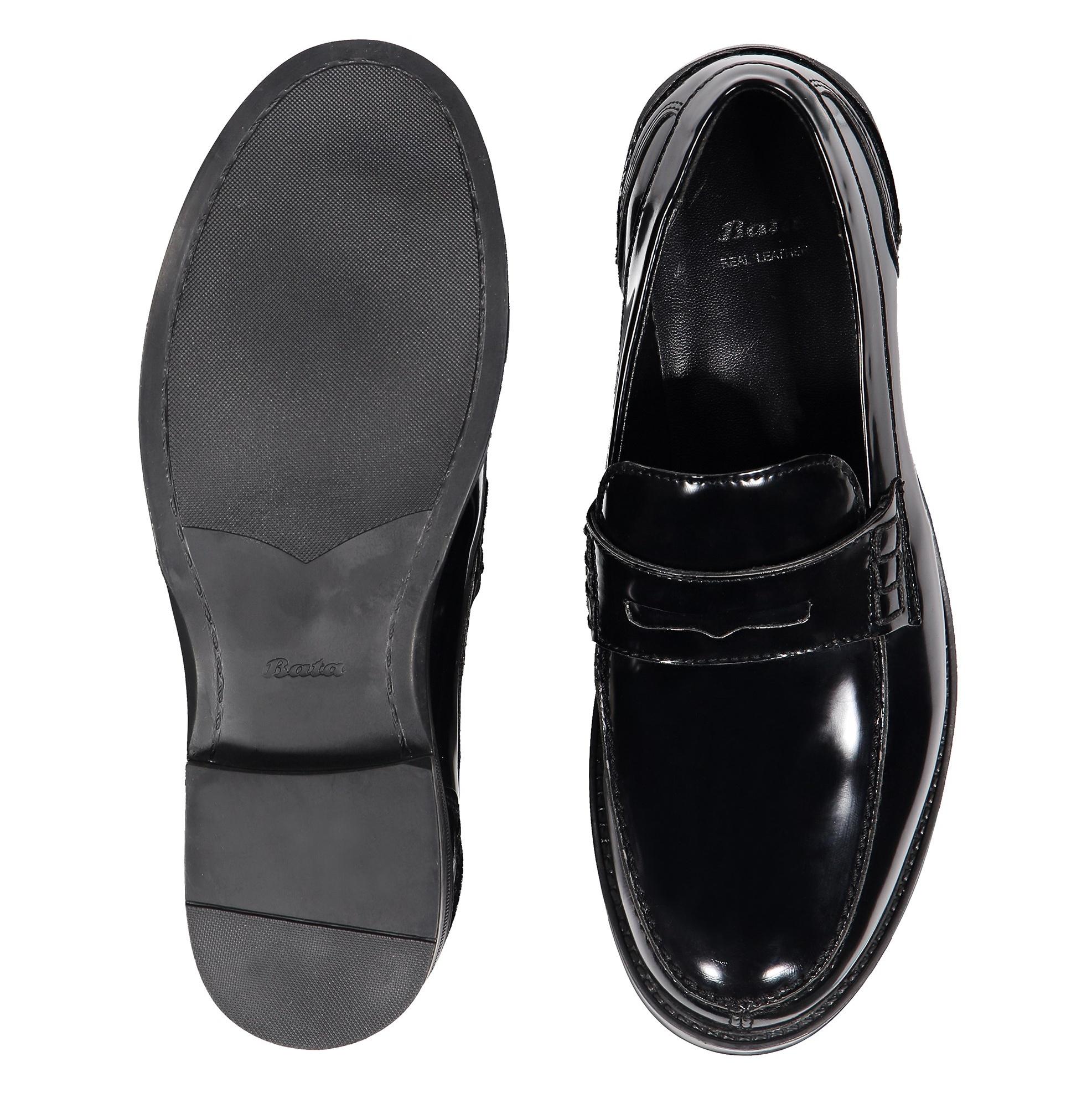 کفش اداری مردانه - باتا - مشکي - 2