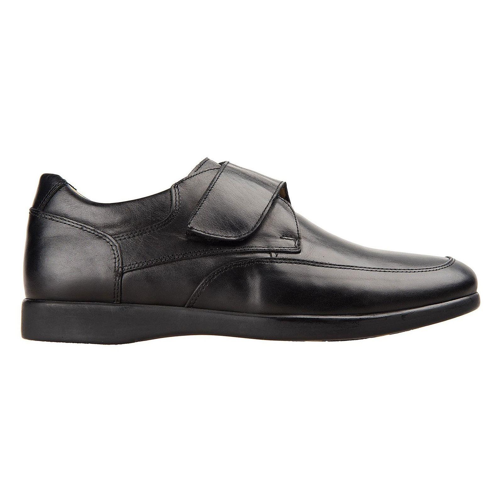 کفش اداری چرم مردانه - شهر چرم - مشکي - 1