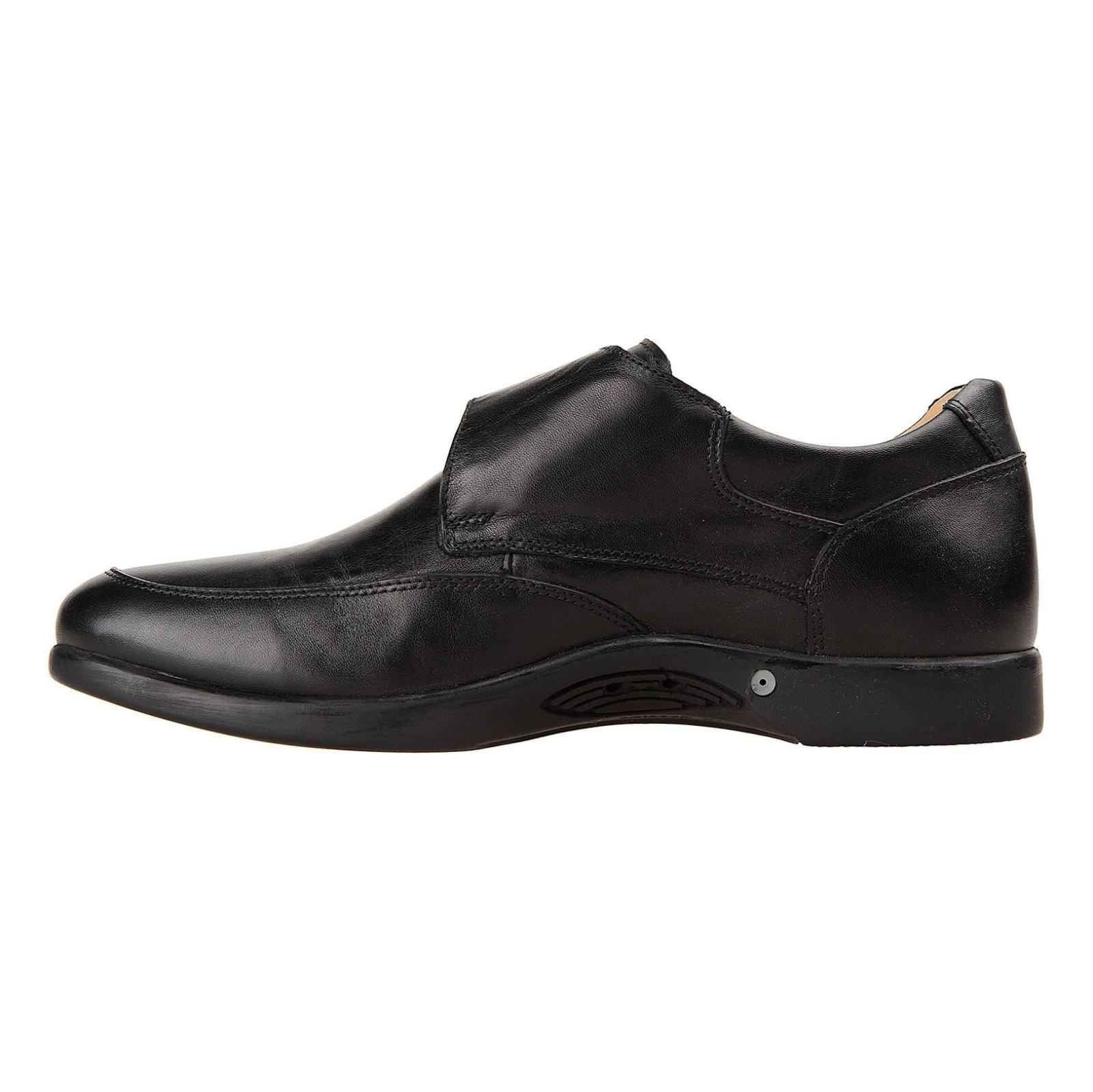 کفش اداری چرم مردانه - شهر چرم - مشکي - 3