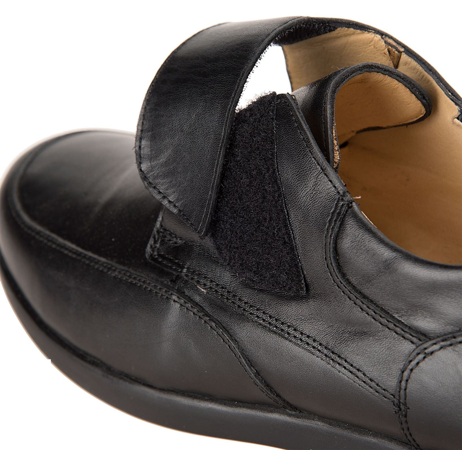 کفش اداری چرم مردانه - شهر چرم - مشکي - 5