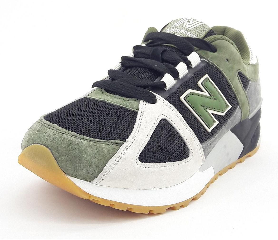 کفش راحتی مردانه نیوبای لنرا مدل Army gr01