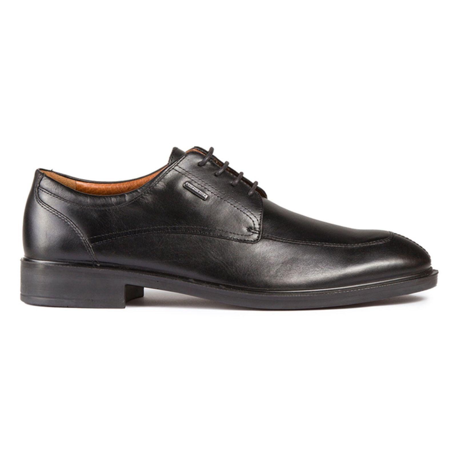 کفش رسمی چرم مردانه - جی اوکس - مشکي - 1
