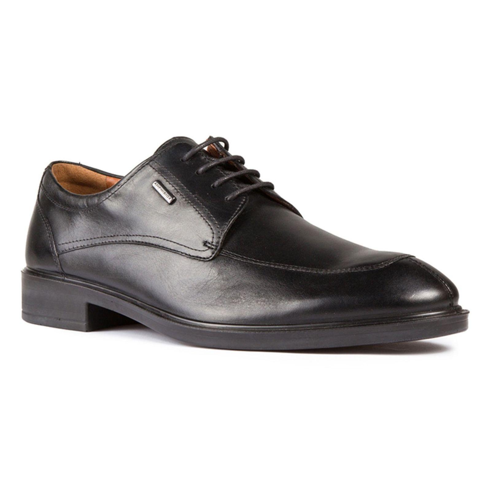 کفش رسمی چرم مردانه - جی اوکس - مشکي - 2