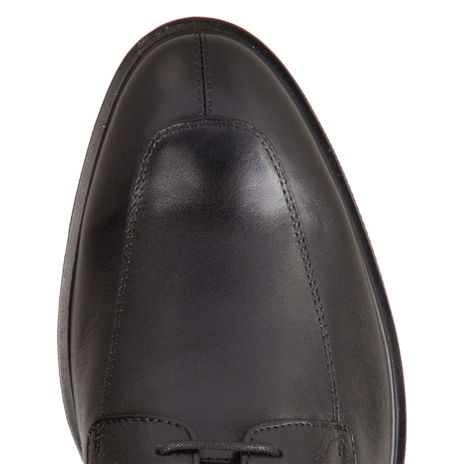 کفش رسمی چرم مردانه - جی اوکس - مشکي - 5