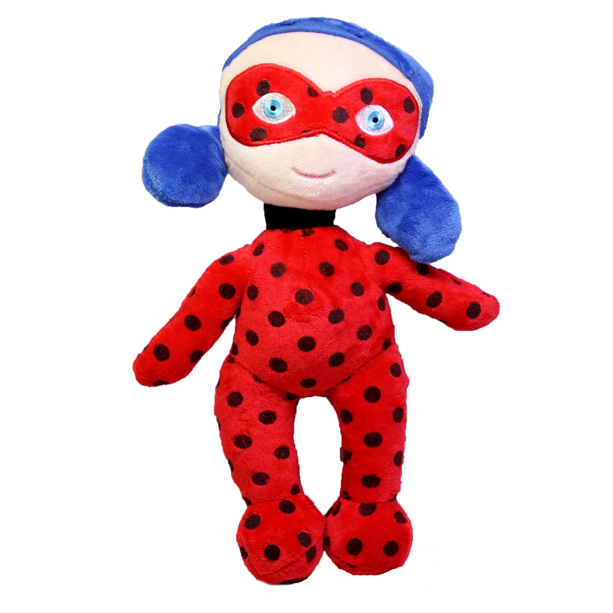 خرید                     عروسک طرح دخترکفشدوزکی ارتفاع 30 سانتی متر