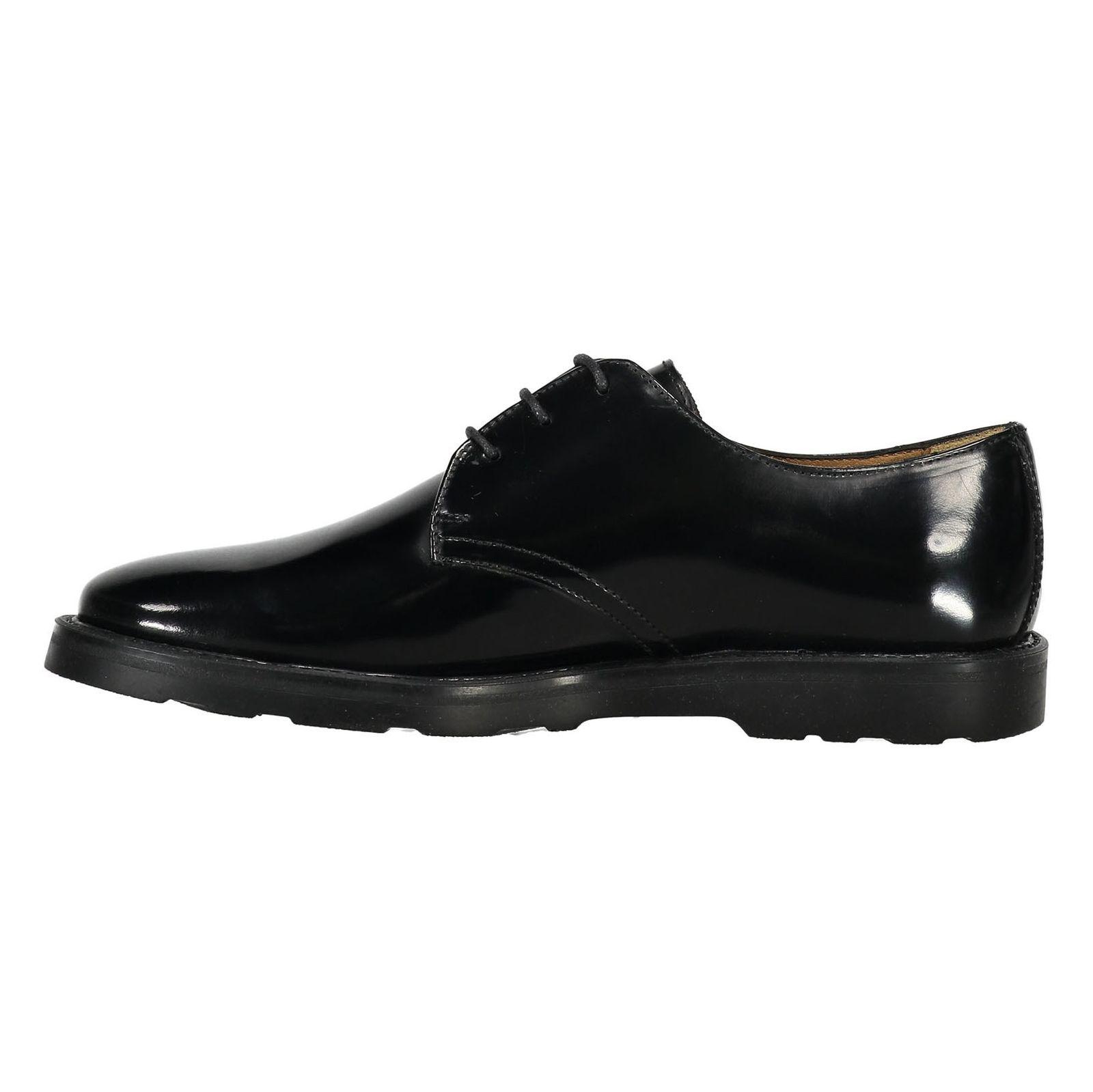 کفش چرم رسمی مردانه - سولدینی - مشکي  - 3