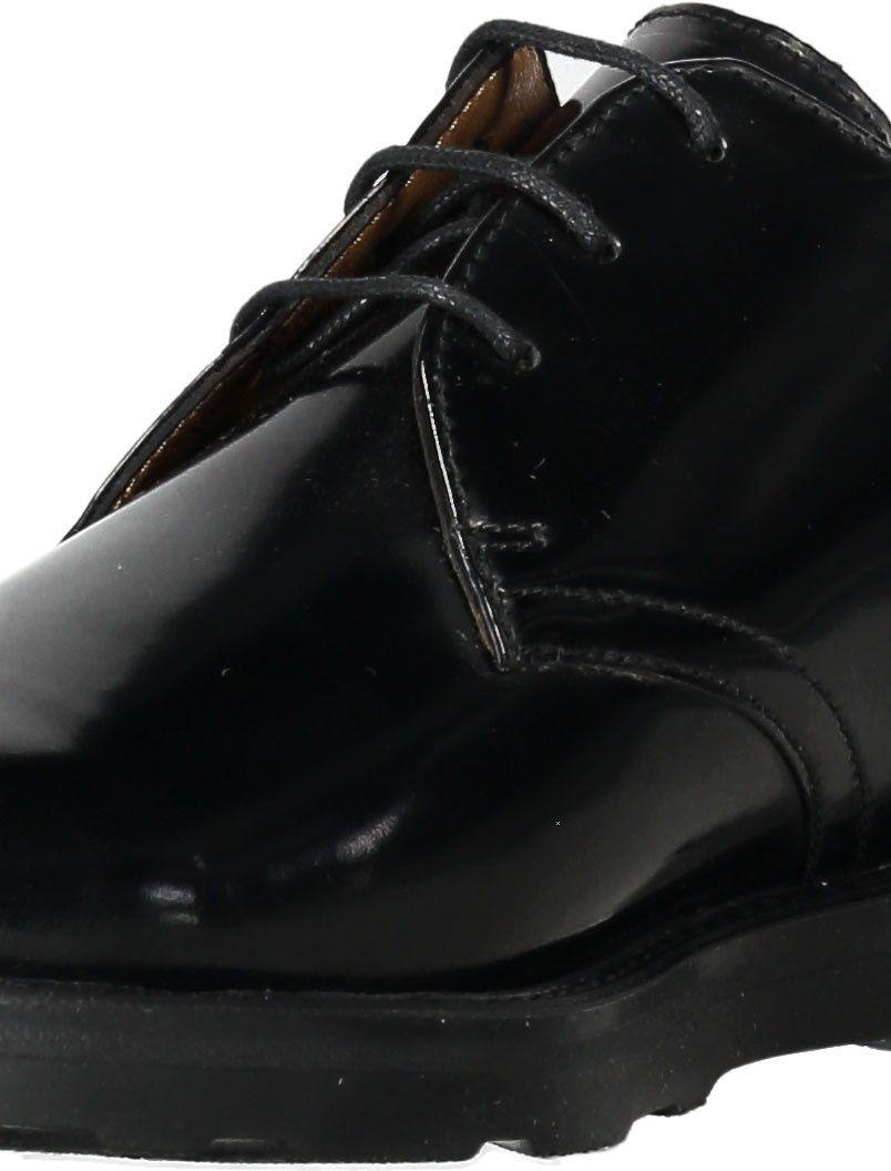 کفش چرم رسمی مردانه - سولدینی - مشکي  - 6