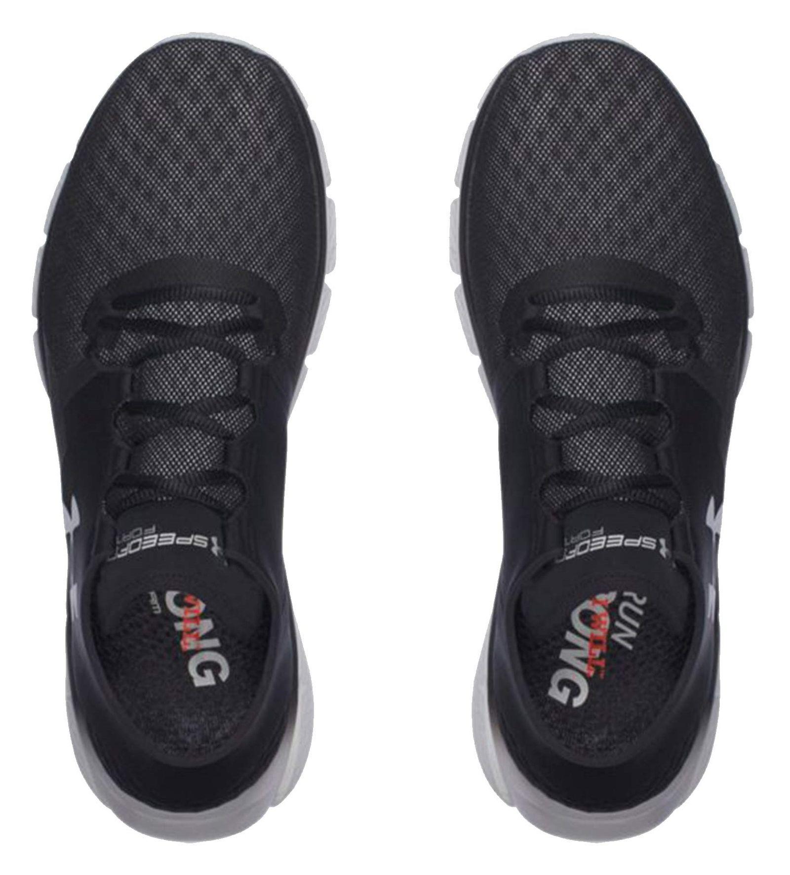 کفش دویدن بندی مردانه - آندر آرمور - مشکي - 2