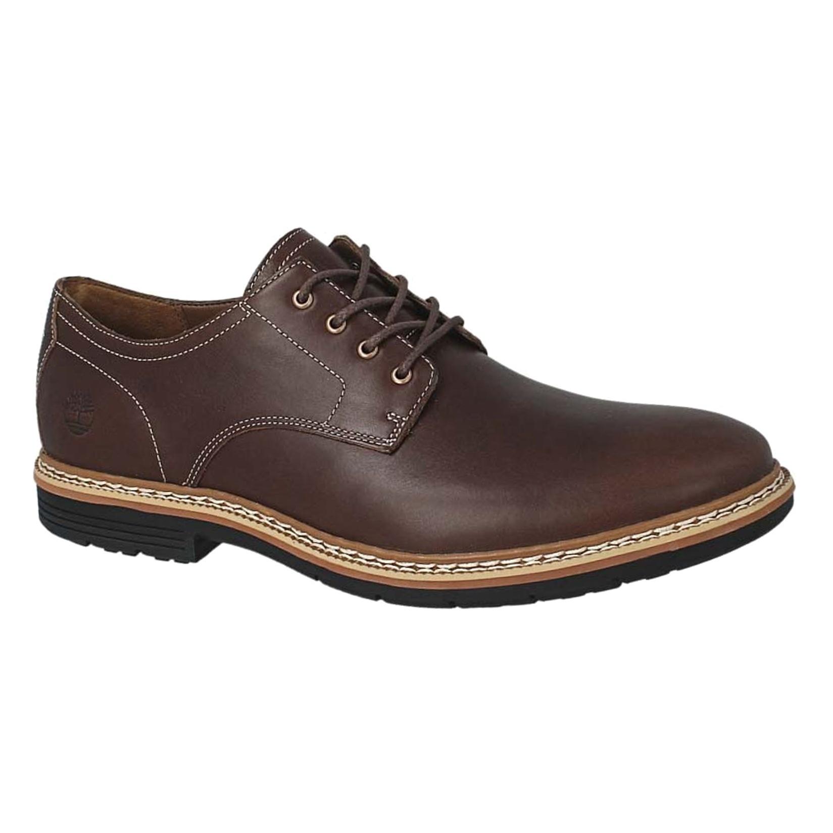 کفش اداری چرم مردانه - تیمبرلند - قهوه اي - 1
