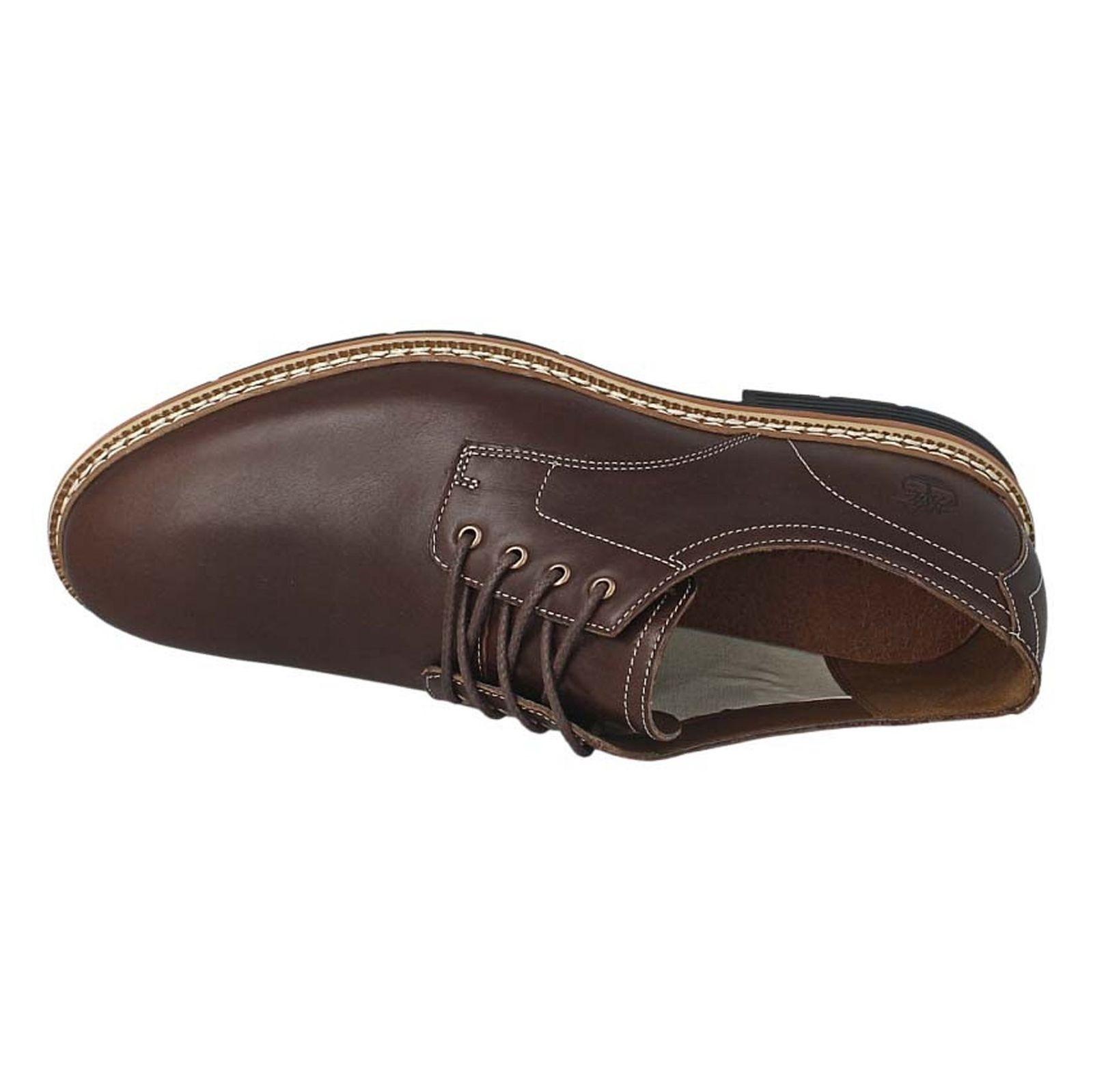 کفش اداری چرم مردانه - تیمبرلند - قهوه اي - 2