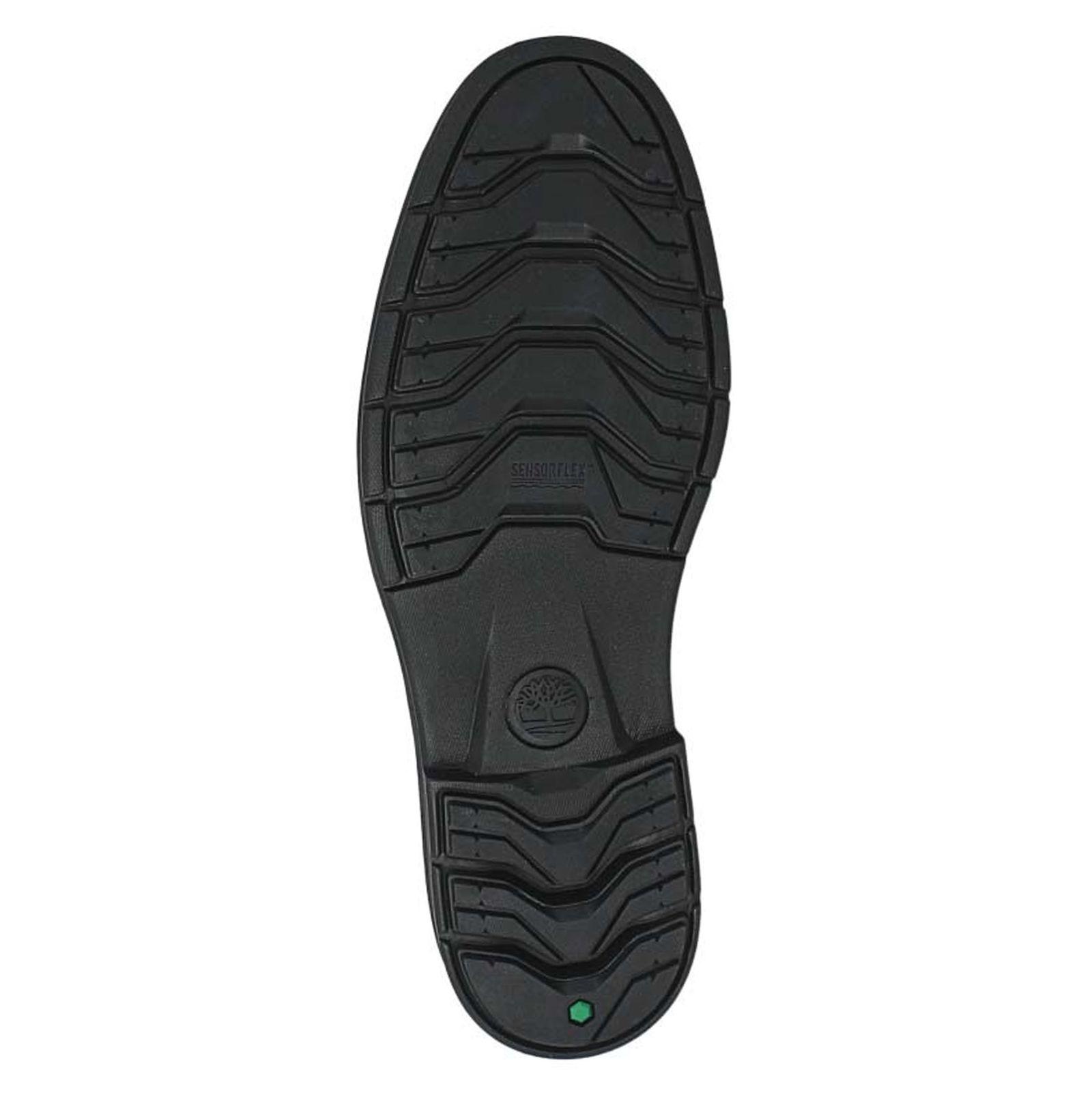کفش اداری چرم مردانه - تیمبرلند - قهوه اي - 3
