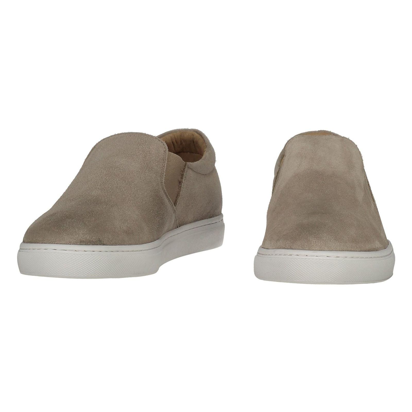 کفش جیر راحتی مردانه - سلکتد - بژ - 4