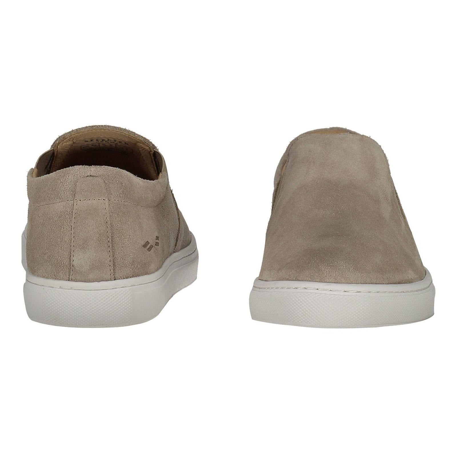 کفش جیر راحتی مردانه - سلکتد - بژ - 5