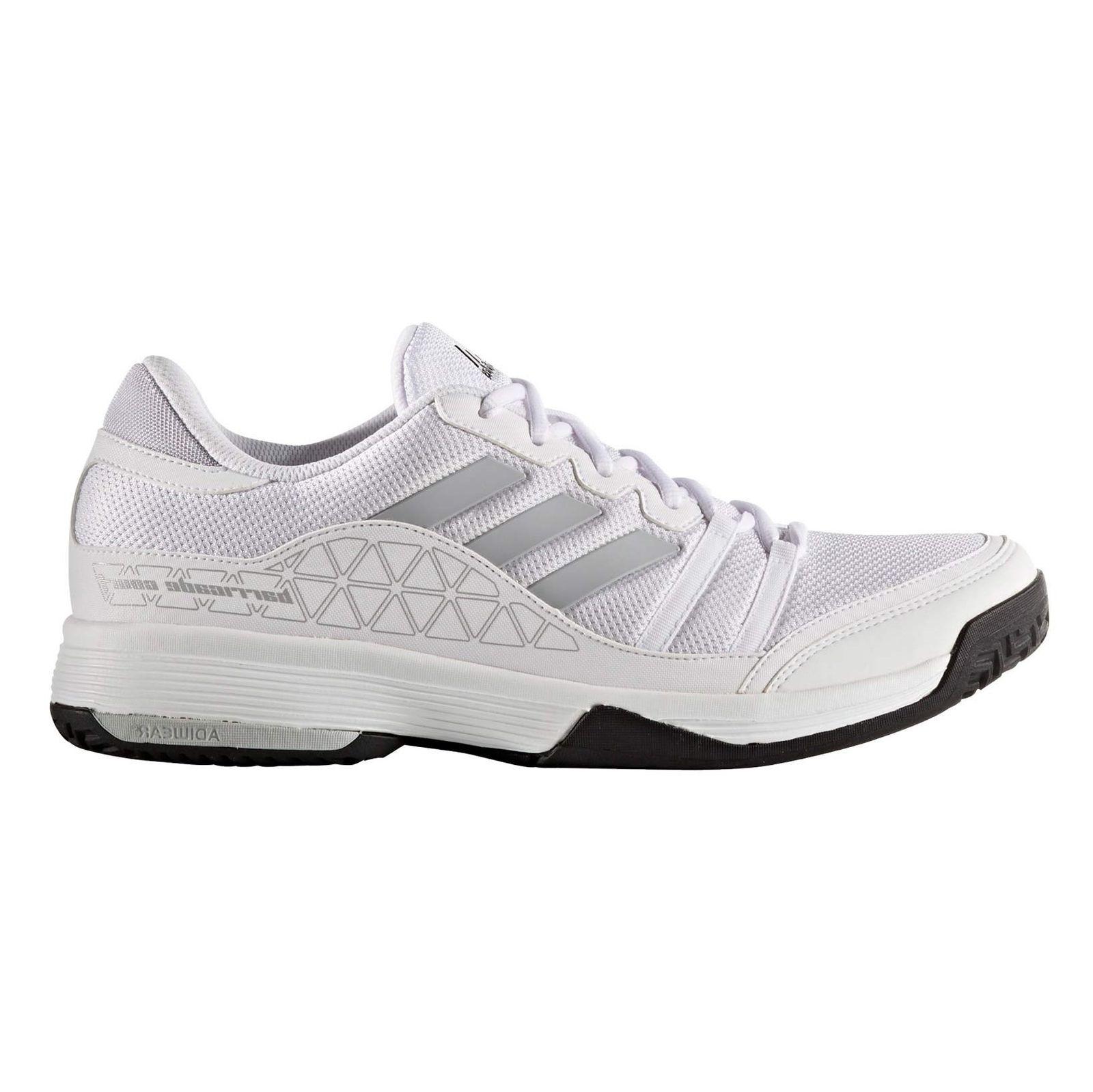کفش تنیس بندی مردانه Barricade Club - آدیداس - سفيد - 1