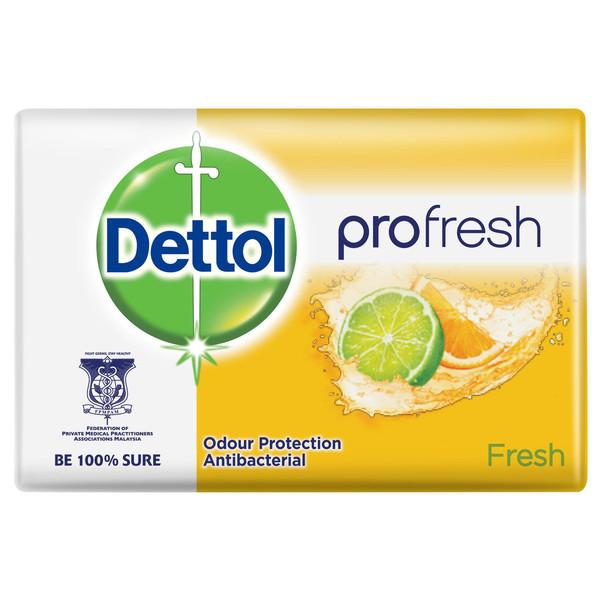 صابون ضد باکتری دتول مدل Profresh Fresh وزن 105 گرم