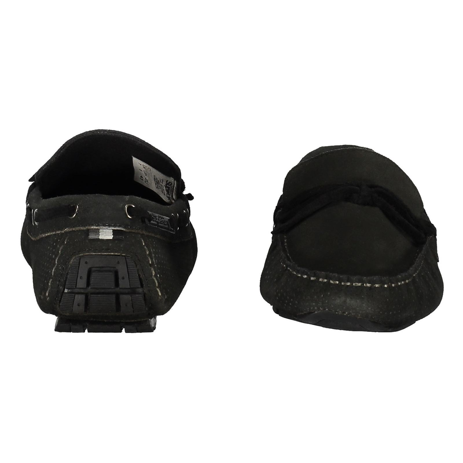 کفش راحتی چرم مردانه Driver - سوپردرای - زغالي - 5