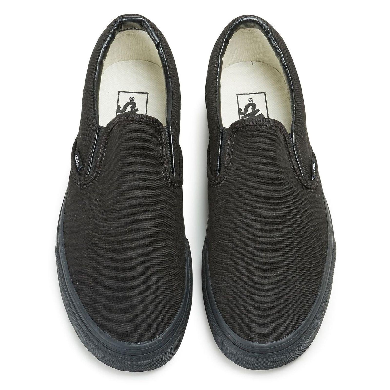 کفش راحتی مردانه Classic Slip On - ونس - مشکي  - 3