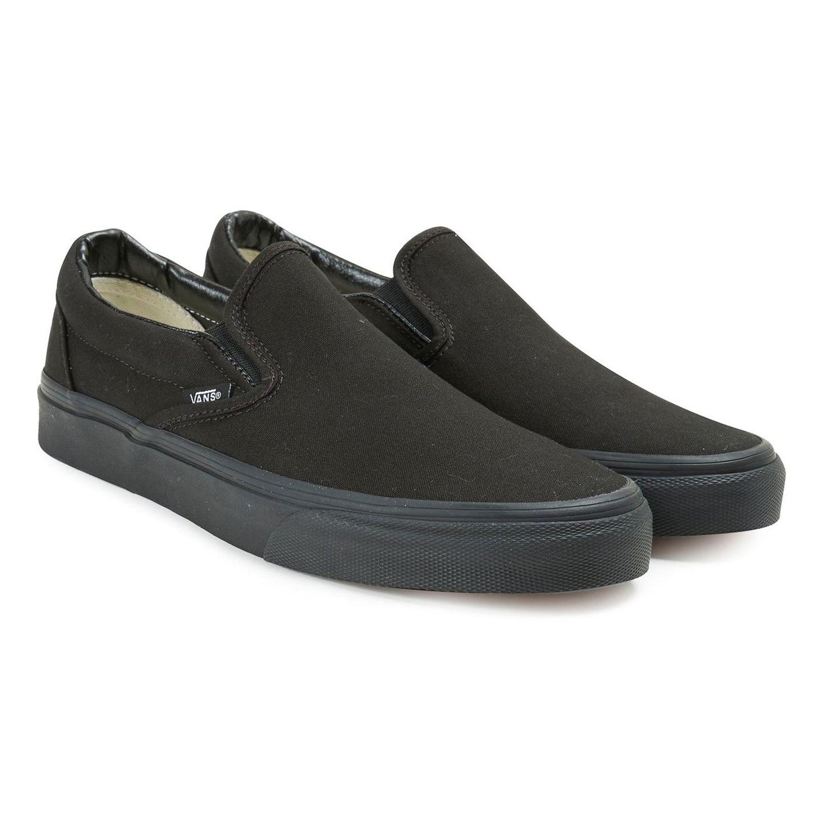 کفش راحتی مردانه Classic Slip On - ونس - مشکي  - 4