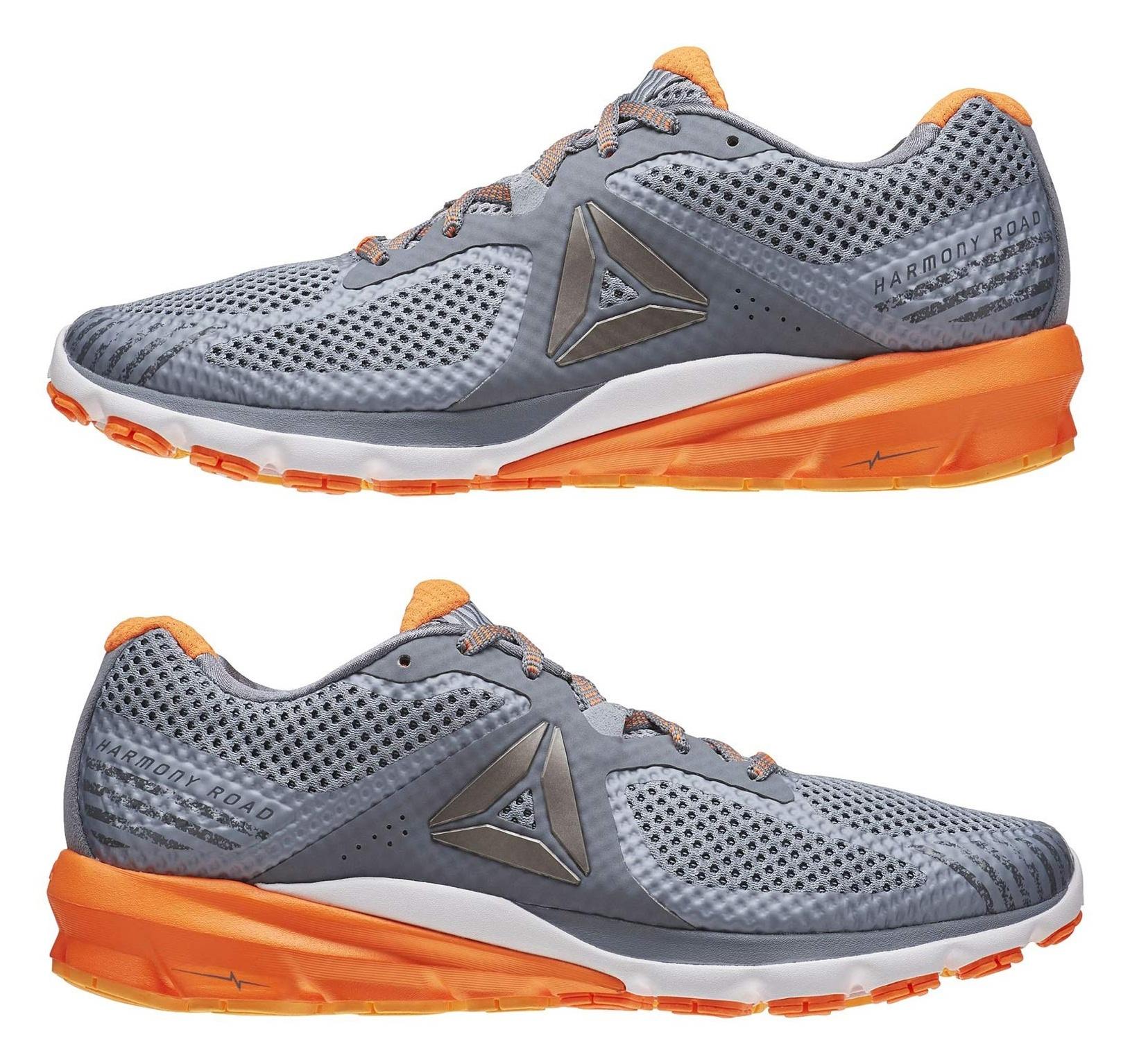 کفش دویدن بندی مردانه Harmony Road - ریباک - طوسي - 3