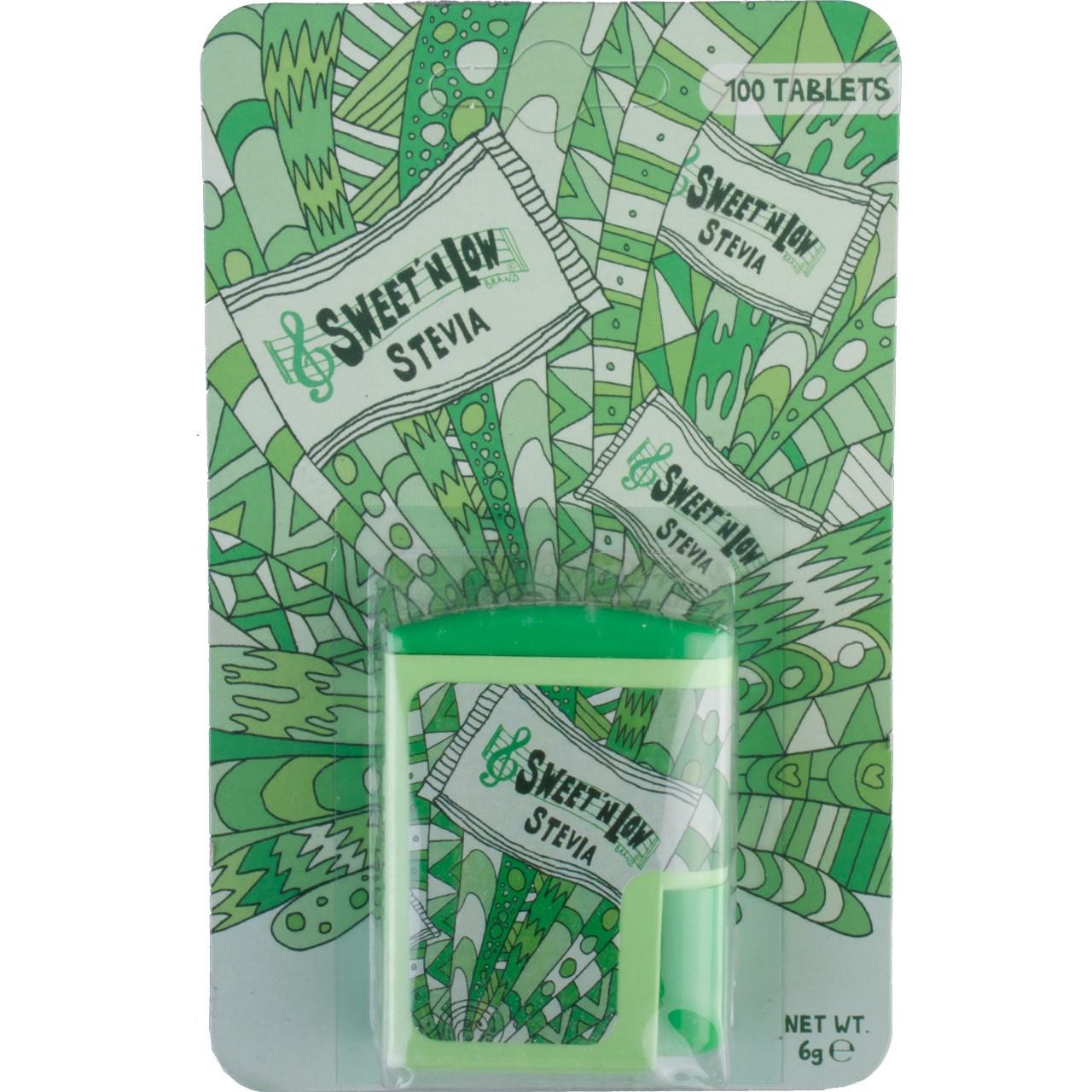 قرص شیرین کننده سوئیت اند لو مدل Stevia  بسته 100 عددی