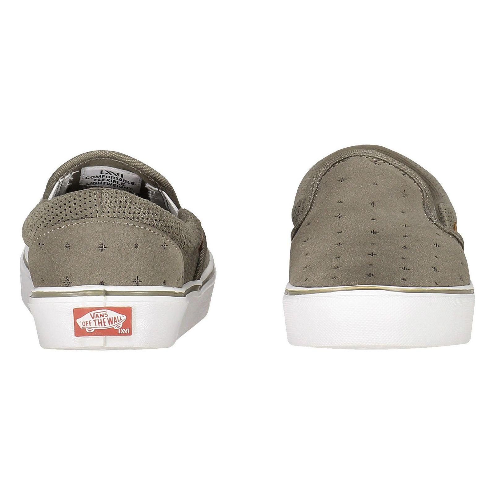کفش راحتی مردانه Slip On Lite - ونس - طوسي  - 4