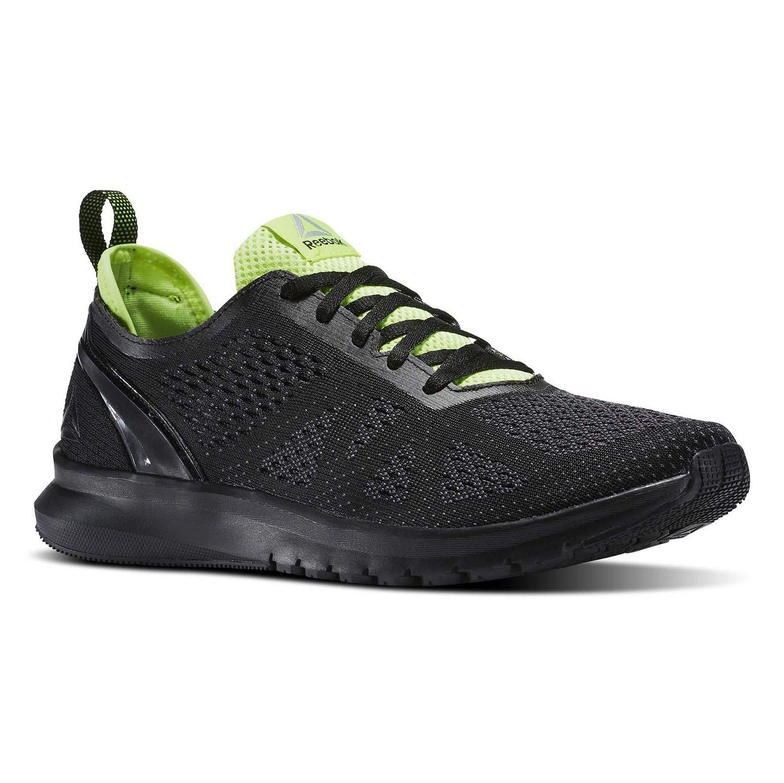 کفش مخصوص دویدن مردانه ریباک مدل Smooth Clip Ultraknit - مشکي - 4