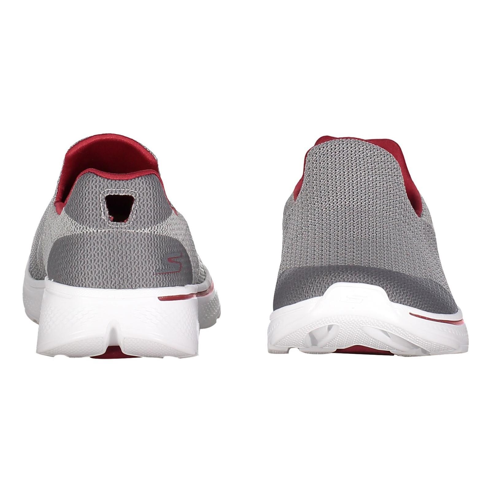 کفش پیاده روی پارچه ای مردانه GOwalk 4 Expert - اسکچرز - طوسي - 5