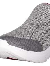 کفش پیاده روی پارچه ای مردانه GOwalk 4 Expert - اسکچرز - طوسي - 6