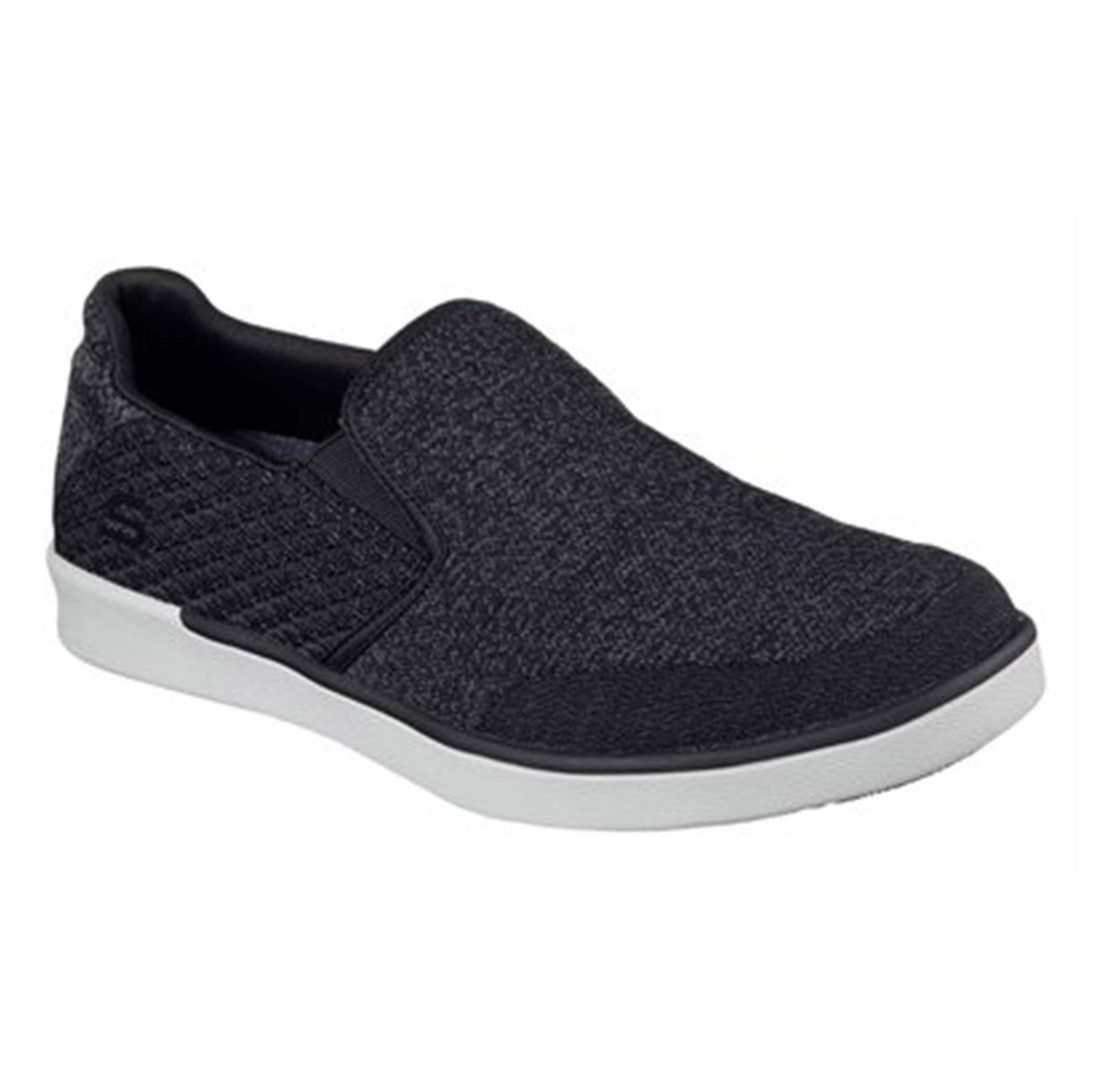 کفش راحتی پارچه ای مردانه Boyar Meber - اسکچرز - مشکي - 4