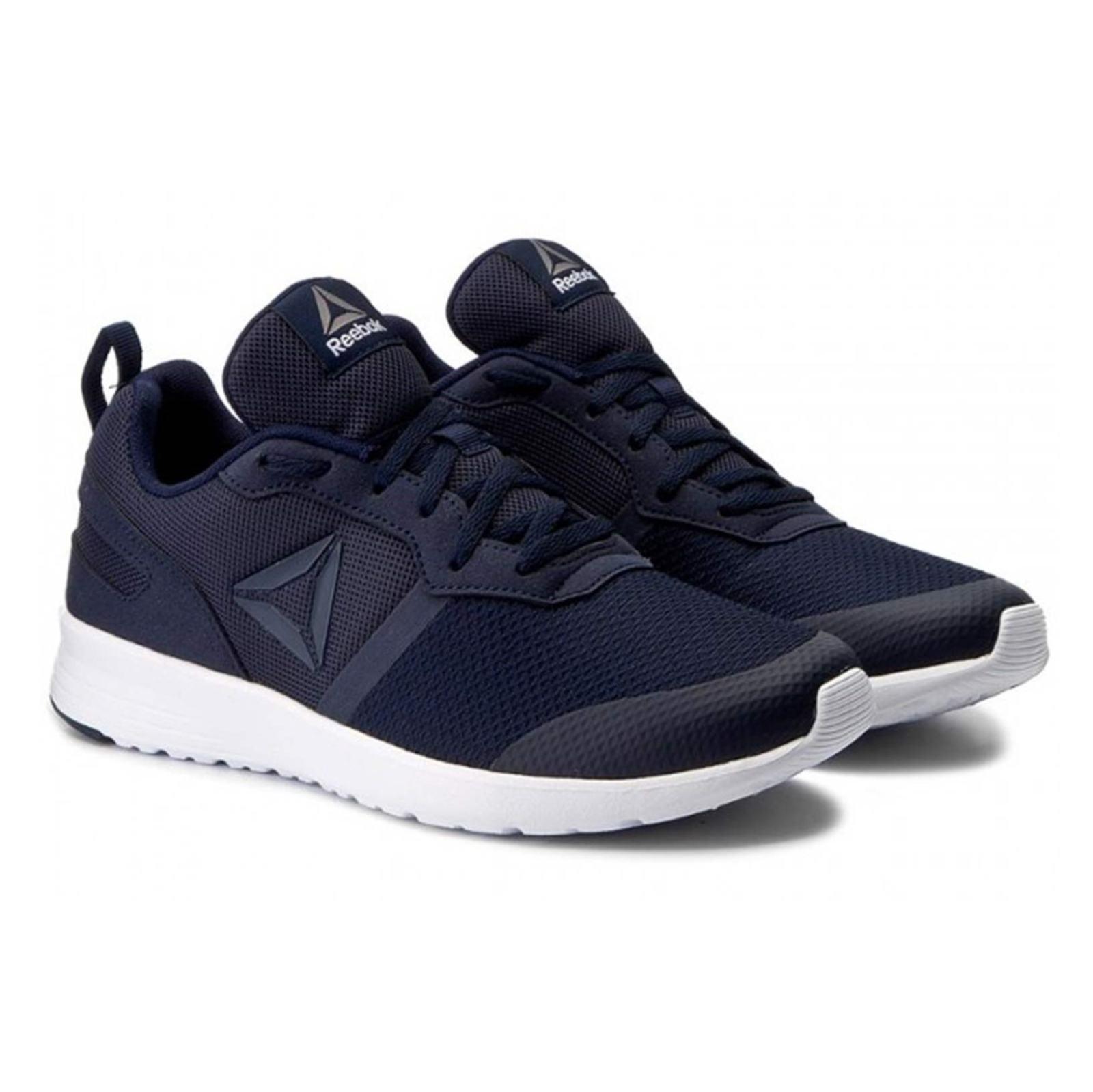 کفش دویدن بندی مردانه Foster Flyer - ریباک - سرمه اي - 3