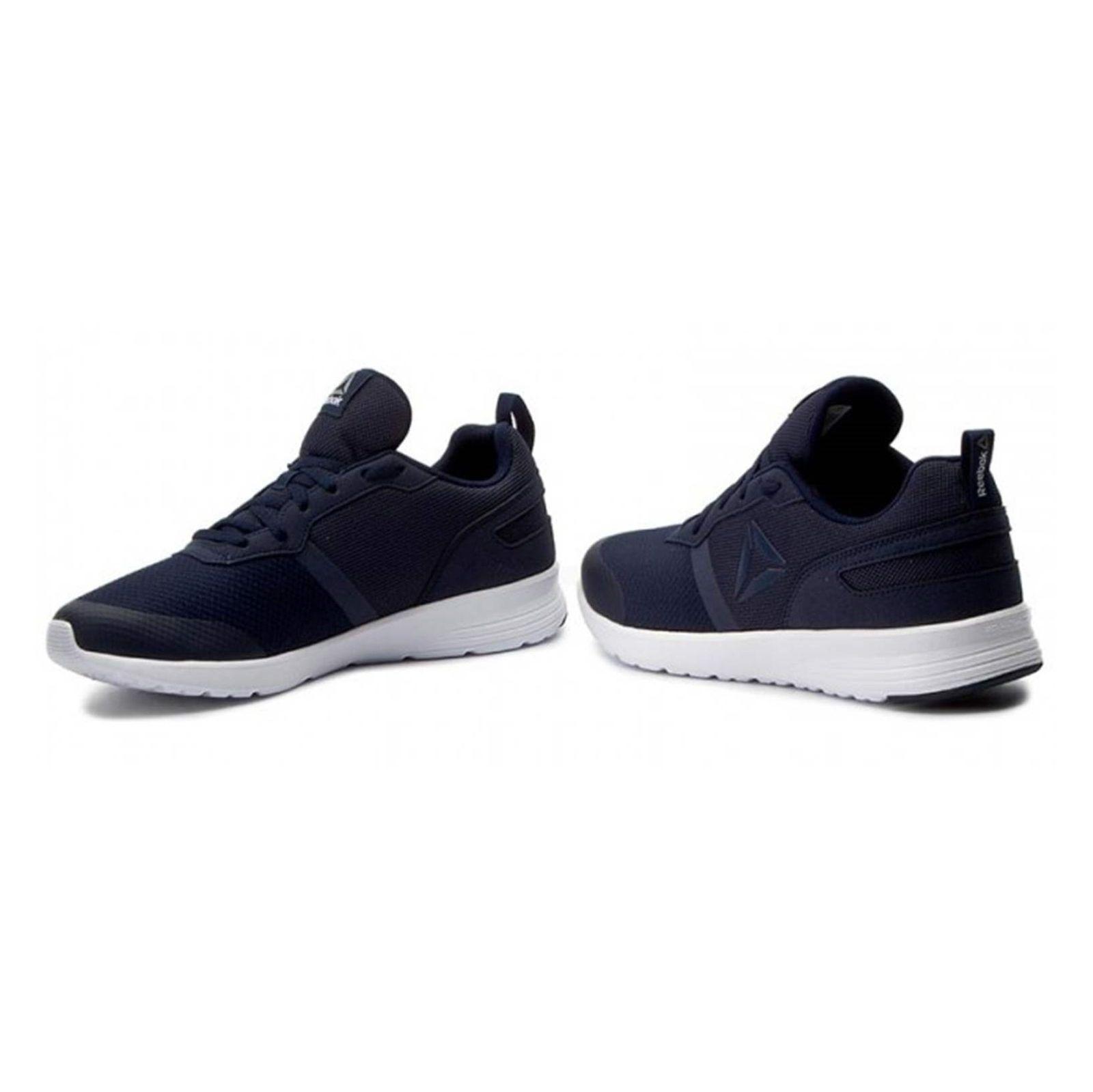 کفش دویدن بندی مردانه Foster Flyer - ریباک - سرمه اي - 4