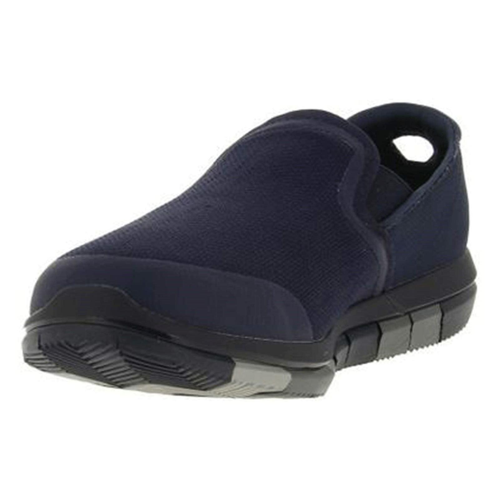 کفش پیاده روی پارچه ای مردانه GO FLEX Walk - اسکچرز - سرمه اي - 3