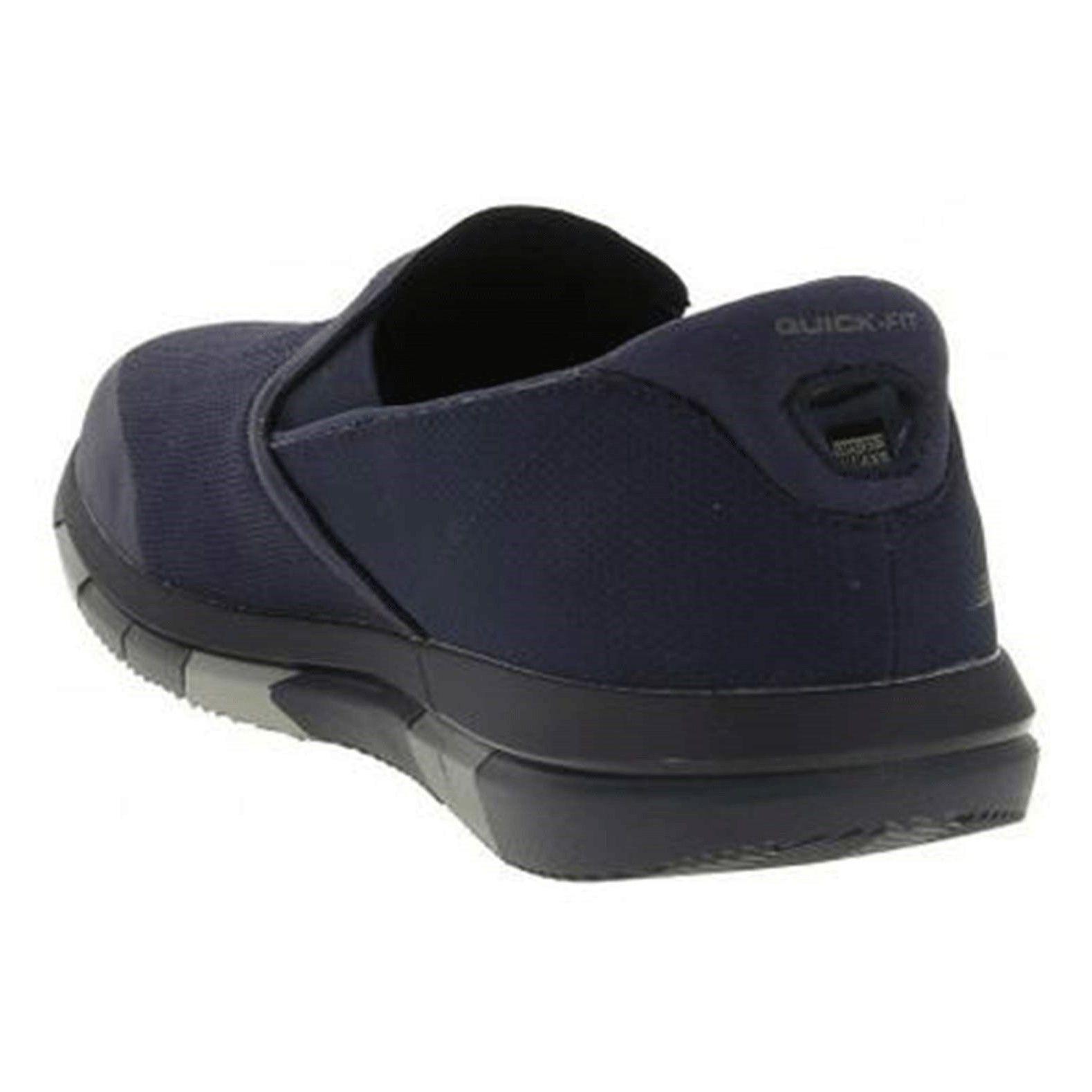 کفش پیاده روی پارچه ای مردانه GO FLEX Walk - اسکچرز - سرمه اي - 4