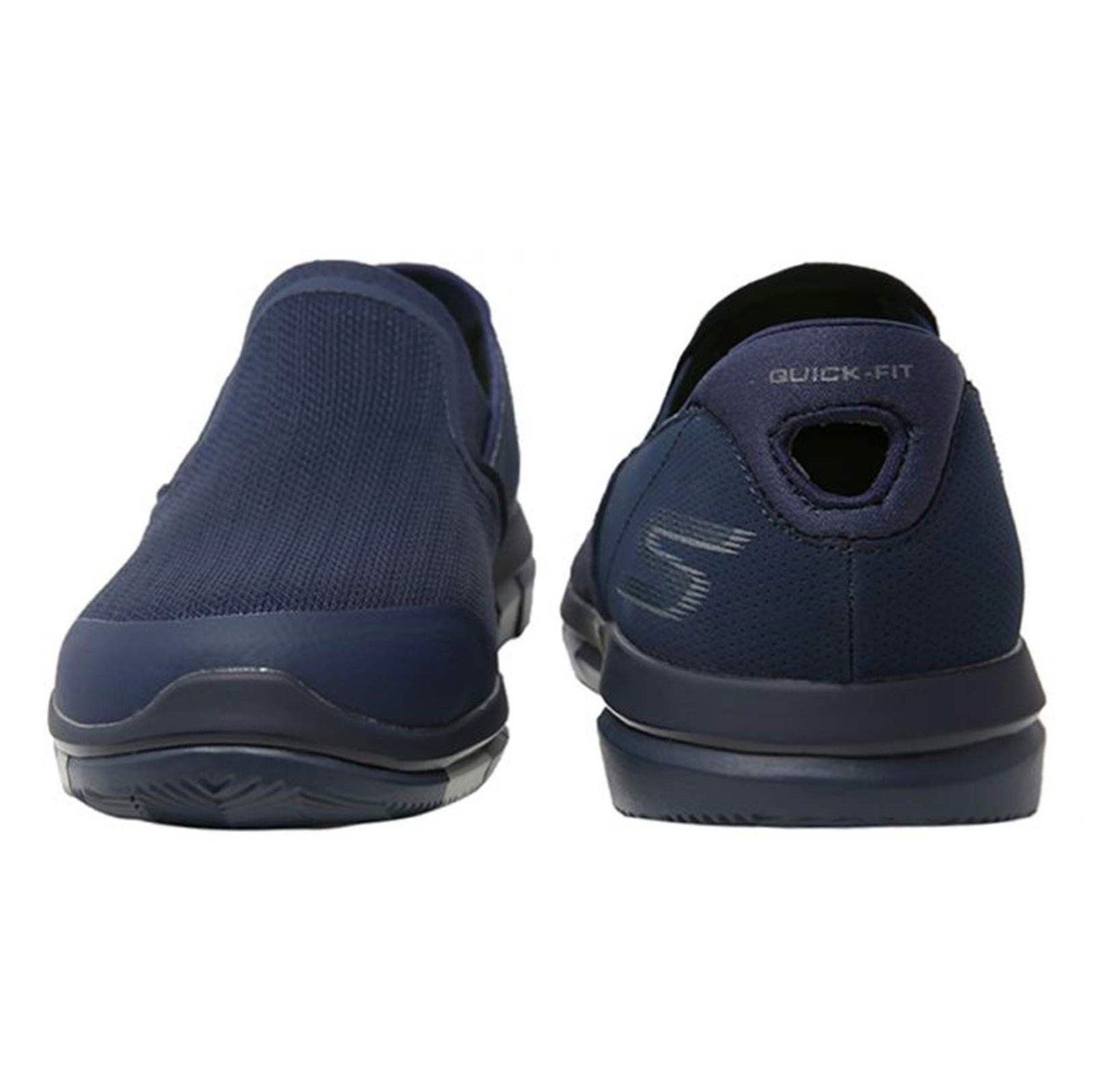 کفش پیاده روی پارچه ای مردانه GO FLEX Walk - اسکچرز - سرمه اي - 6