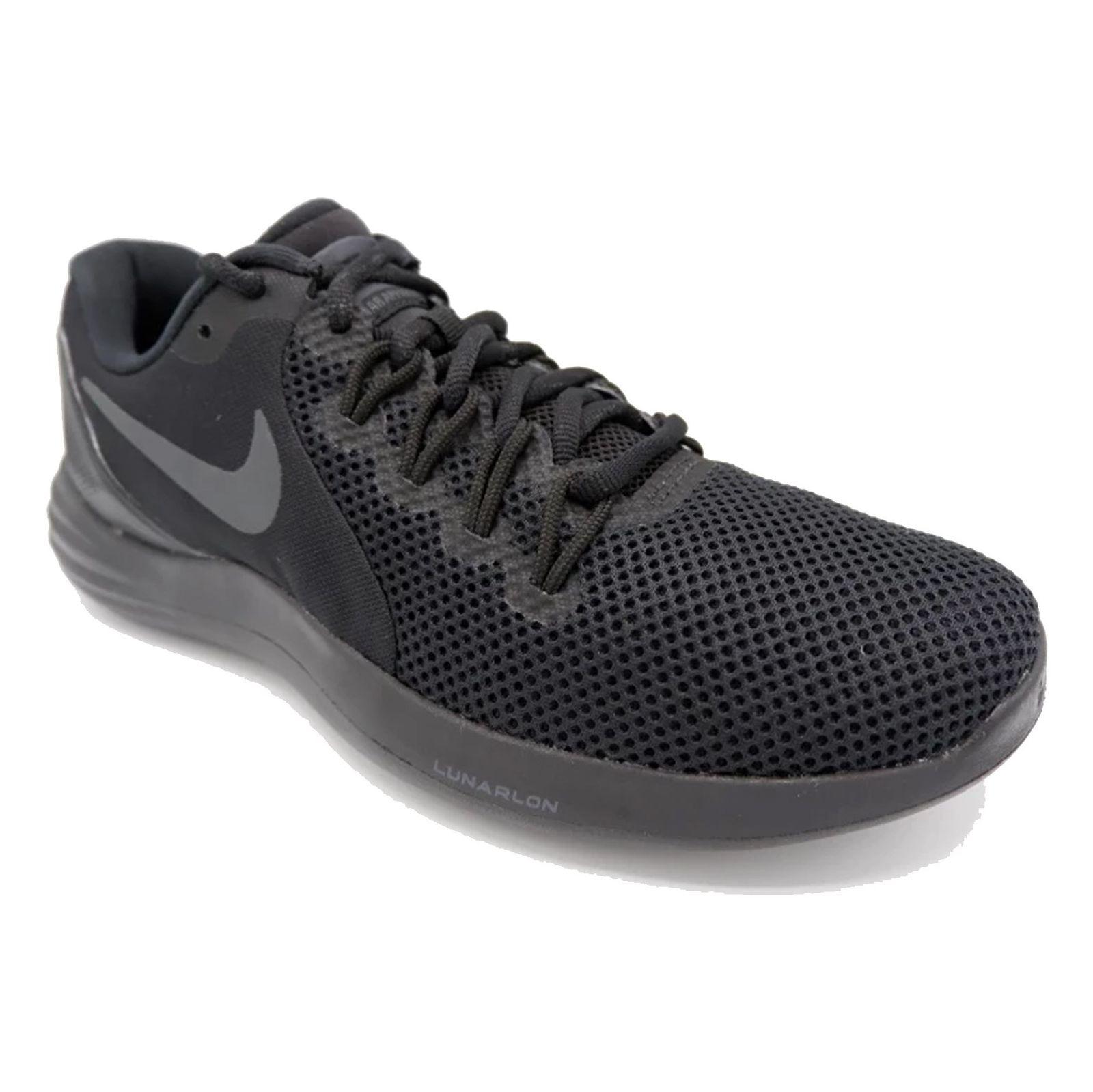 کفش دویدن بندی مردانه Lunar Apparent - نایکی - مشکي - 3