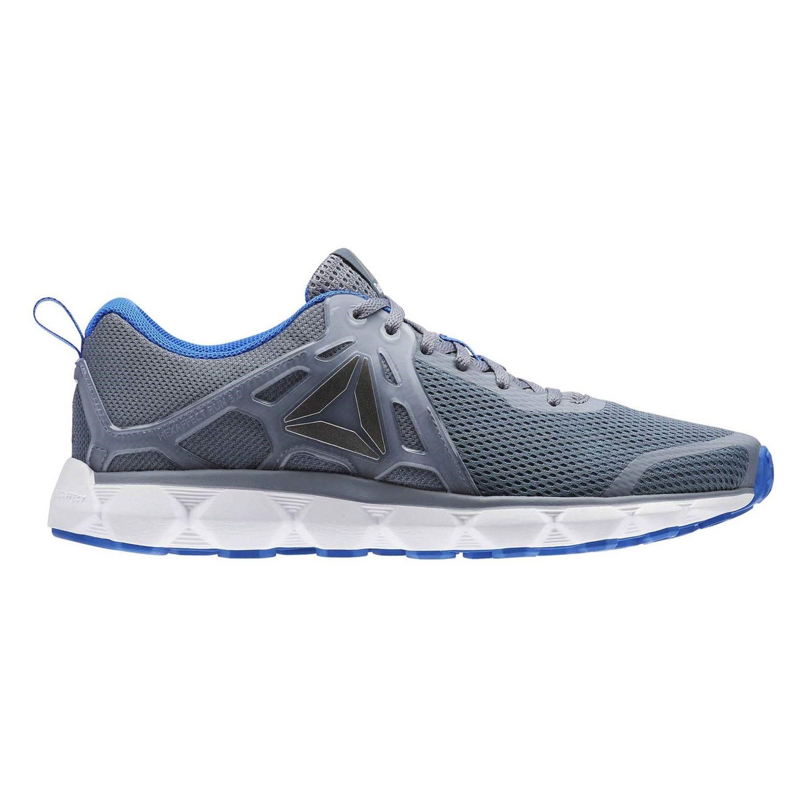 کفش دویدن بندی مردانه Hexaffect Run 5-0 Mtm - ریباک - طوسي - 1