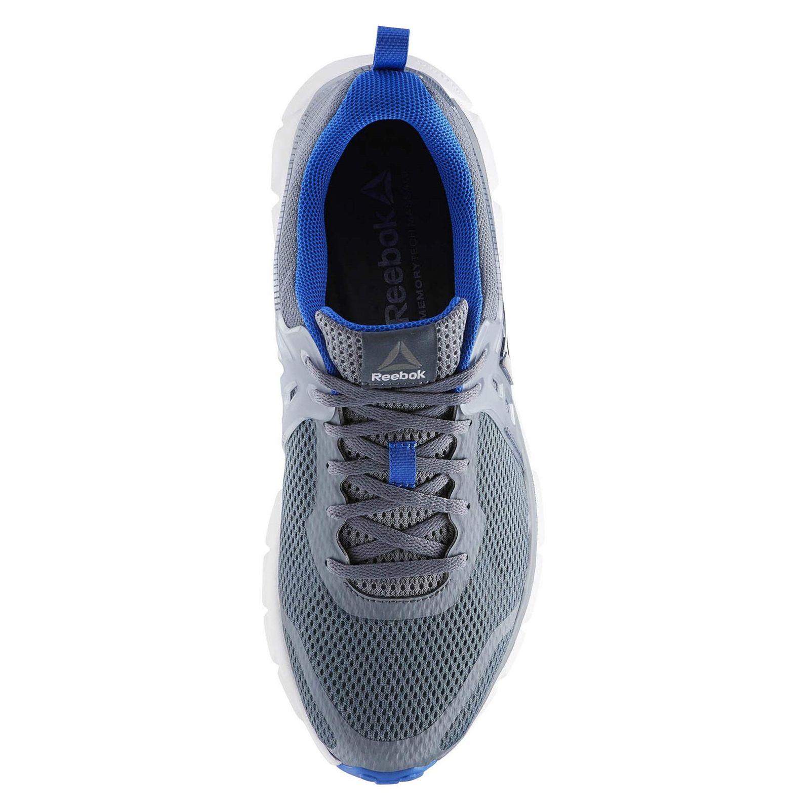 کفش دویدن بندی مردانه Hexaffect Run 5-0 Mtm - ریباک - طوسي - 5