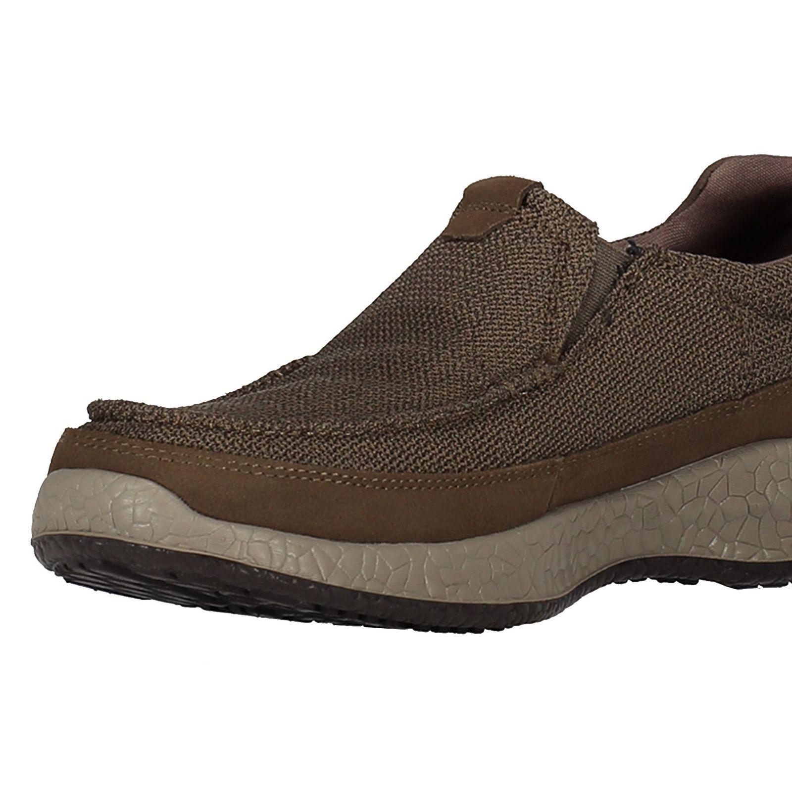 کفش راحتی پارچه ای مردانه Bursen Kinto - اسکچرز - قهوه اي روشن - 6