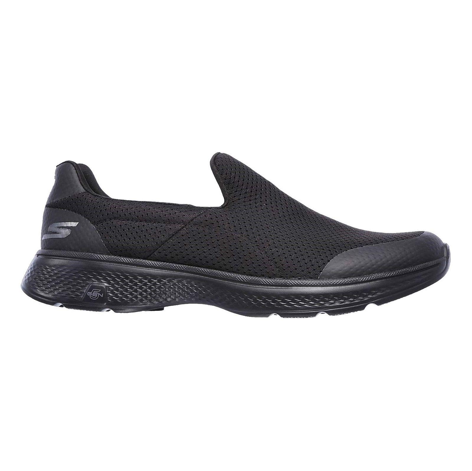 کفش پیاده روی پارچه ای مردانه GOwalk 4 Incredible - اسکچرز - مشکي - 1