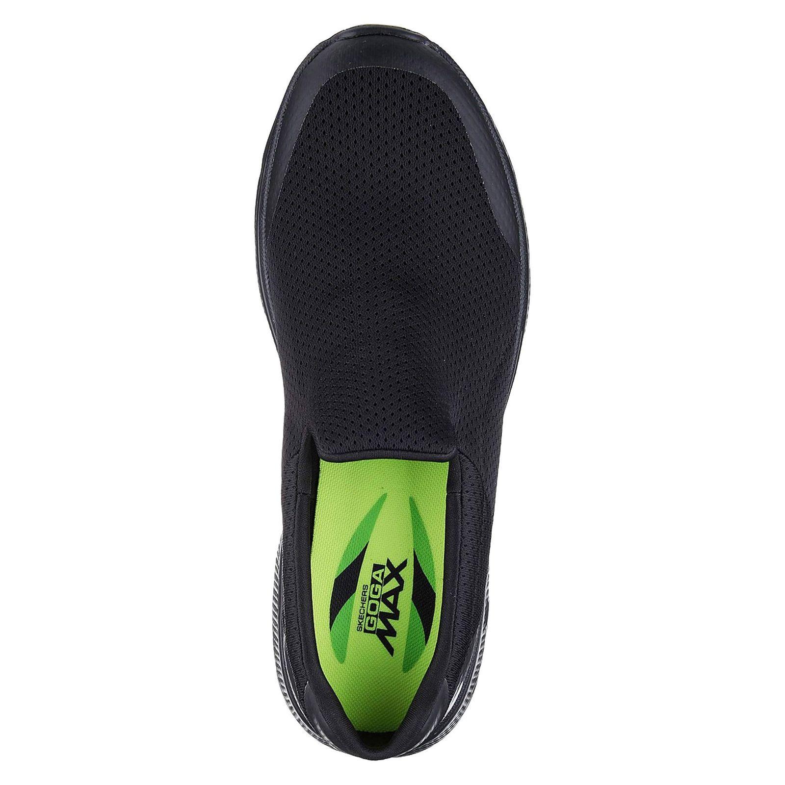 کفش پیاده روی پارچه ای مردانه GOwalk 4 Incredible - اسکچرز - مشکي - 2
