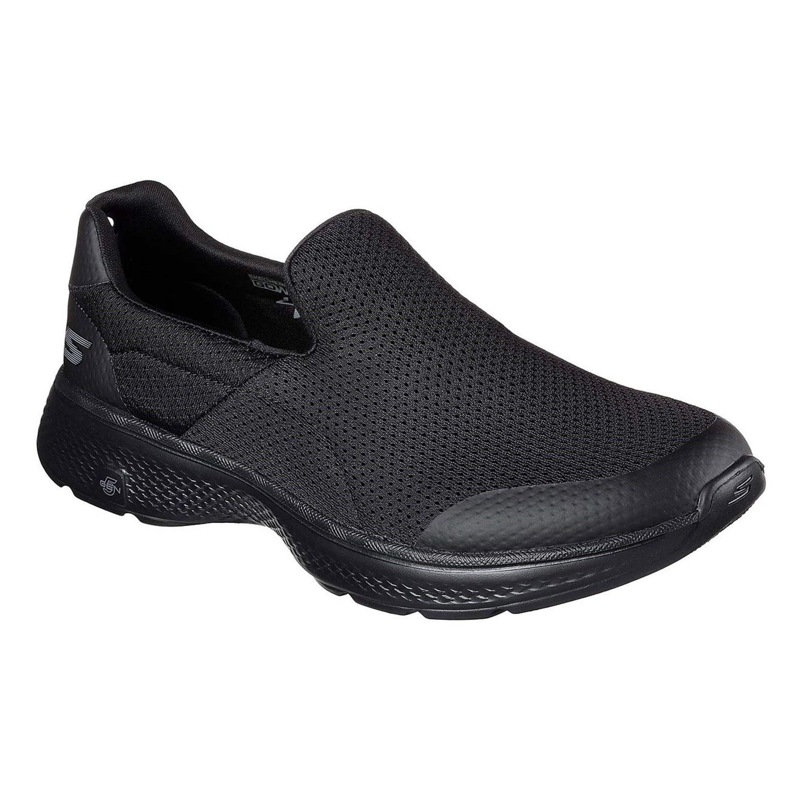 کفش پیاده روی پارچه ای مردانه GOwalk 4 Incredible - اسکچرز - مشکي - 5