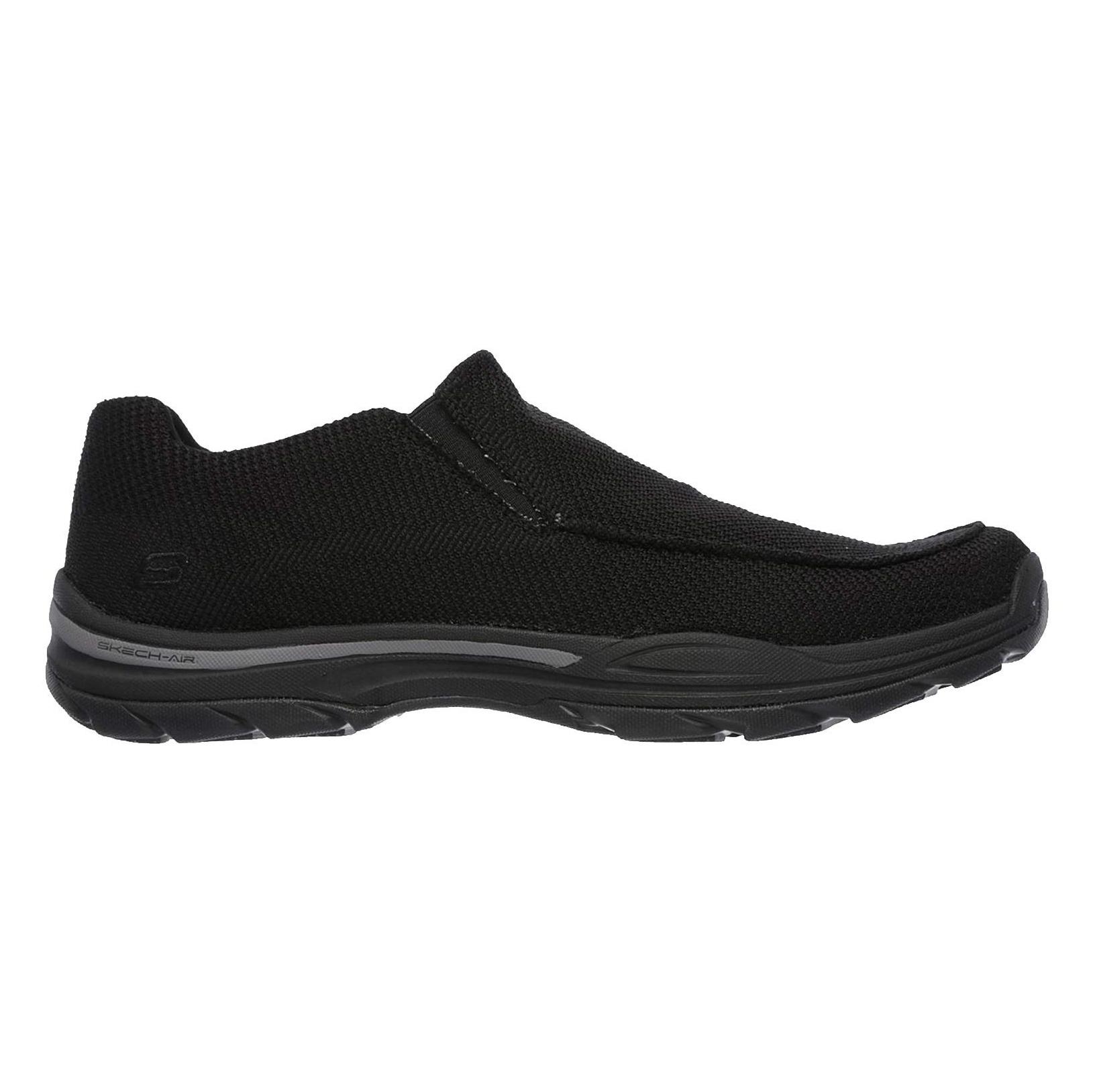 کفش راحتی پارچه ای مردانه Skech-Air Elment Vengo - اسکچرز - مشکي - 1
